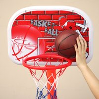 Cheap The new children Outdoor basketball baby Adjustable basketball stand children outdoor basketball frame indoor play basketball