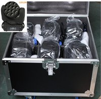 beam stages - 6pcs With Flight Case for beam led moving head w Stage Light Moving Head LED Beam Light x W