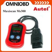 auto diagnose - MS300 OBDII OBD2 Car Auto Diagnostic Diagnose Engine Code Reader Scanner Autel MaxiScan MS300 obd scanner MaxiScan MS300
