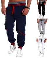 Wholesale Mens Joggers New Fashion Casual Harem Sweatpants Sport Pants Trousers Sarouel Men Tracksuit Bottoms For Track Training Jogging