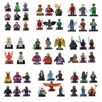 Wholesale Marvel Super Heroes Minifigures Classic Toys le Building Blocks go Sets Model Bricks Figures Avengers Minifigure toy