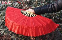 chinese dance fans - R H New Chinese Silk Dance Fans Ladies Square Dance Fan Younger Fan Chinese Arts and Crafts drop shipping