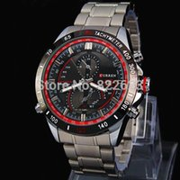big blue auto - 2015 Fashion Casual Man Watch Big Watch Stainless steel Male Quartz Watch Curren Wriswatch military watches