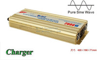 110V/220V dc to ac inverter - High Quality Sufficient W Power Inverter Pure Sine Wave DC to AC Converter AC Adapter Watt Inverter Power Supply Meind Dropshipping