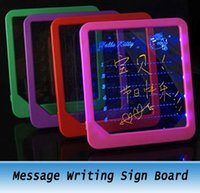 Wholesale Message Writing Sign Board Led Light Illuminate Saving Display
