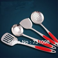 best quality cookware sets - The best quality for stainless steel cookware cooking tool sets colander strockle slice slotted turner