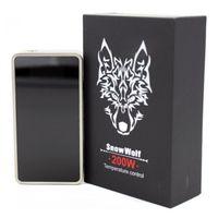 Wholesale 100 Genuine snow wolf w box TC mod suitable for kanger subtank plus aspire atlantis v2 tank