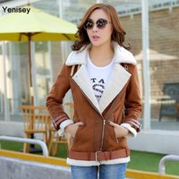 Wholesale Winter Coat Special Offer Feather New Autumn And Winter Fashion Lamb Coat Cotton Suede Jacket Korean Thickening