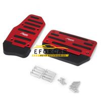 Wholesale 2pcs set Non Slip Aluminum car pedal pad car pedal covers car Gas Clutch Brake and Accelerator Pedal Pad Covers car accessories