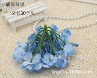 Christmas artificial christmas wreath - 6C available DIA cm artificial hydrangea flower head diy wedding bouquet flowers head wreath garland home decoration