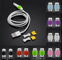 Wholesale 2016 Hot Sale Multicolor Charger Cable Saver Protector for Apple iPhone Cell Phone Protective Accessory