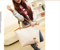 Wholesale 2015 European fashion large capacity woman handbag PU Shoulder Bag