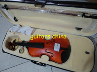 Wholesale NEW Beginner Acoustic Violin Free hard case Musical Instruments