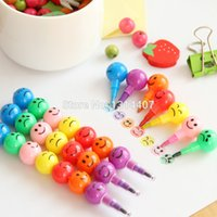 Wholesale Mini Funny coated haws color crayon graffiti cartoon pen