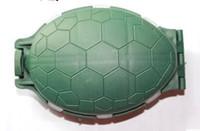 рыбалки пластиковый ящик материал черепаховый форма зеленая приманка коробка интенсивная коробка экономичный и практичный Песка