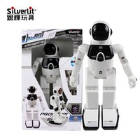 Wholesale high quality hiteck robotic fun electronic intelligent robot birthday gift christmas present for children