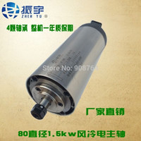 air bearings - 2016 The New Hot Selling cnc spindle motor v rpm w kw bearings ER11 engraving machine Dia mm air cooling High Quality