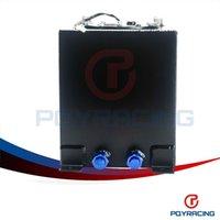 Wholesale PQY STORE BLACK L Aluminium Fuel Surge tank Fuel cell with sensor foam inside PQY TK38BK