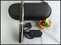 cire VIP VAPE Pen fumer de l'herbe sèche cigarette électronique plus profonde et la chambre en céramique cire e dispositif de combustion solide micro d cire stylo