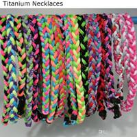Wholesale Hot sale Chockers necklaces for sale Germanium titanium Necklaces Bracelet baseball sports necklaces jewelry online KLF