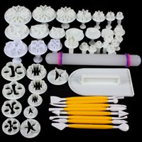 Wholesale 14 Sets Delicious Fondant Cake Decorating Modelling Tools for Creating Different Shapes HOA_834