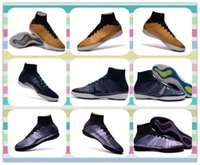 best rubber products - New Product New Elastico Superfly pro ACC TF Indoor Best Gold Blue Purple Football futbol soccer shoes mens Cheap Training Sneakers