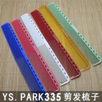 Wholesale Ys park barber comb good quality Japan comb professional hair comb for hair cutting nice shape