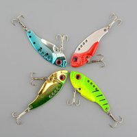 Wholesale Metal Fishing Lure Crankbait Floating Crank Spinnerbait Green and Gold Bait Treble Hook Tackle cm Life like