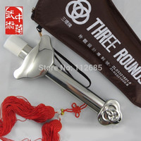 Wholesale good quality telescopic all stainless steel Tai Chi Sword taiji kung fu martial arts training Free tassel bag