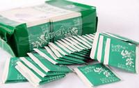 al por mayor comprar el té verde-hotsale al oeste del lago Longjing té Longjing pequeño paquete independiente comprar directamente de China 2g / bolso 100 bolsa / lot té verde