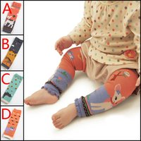 baby horse clothing - Cartoon baby leg warmers baby boys girls socks knee length Deer Cat Horse Rhinoceros animal prints infant girl clothes HX