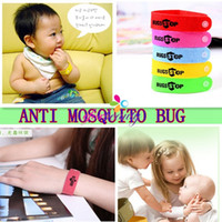 bug repellent - New Anti Mosquito Bug Repellent Wrist Band Bracelet Adjustable Size Non Toxic Deet Free Good Quality