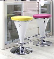 Wholesale Front desk european style bar chair lift high bar stool European stool