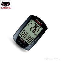 bicycle odometer speedometer cateye - CATEYE Waterproof Wireless Bike Bicycle Cycling Computer Odometer Speedometer Multifunction With Functions