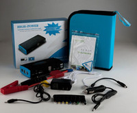 Wholesale Doxin Emergency mah V Jump Starter Powerbank Car Battery Jump Starter with LED Flashlight for Laptop tablet pc smartphones