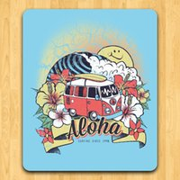 aloha surf - NEW Art Creativea ALOHA SURFING SINCE Mouse pad Mat accessories X200X3mm poster mouse pads FreeShipping