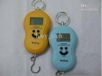 Wholesale LCD Hanging Scale Gourd shaped LCD Electronic Hanging Scale KG G