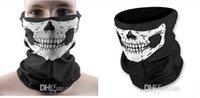 Wholesale Newest Skull Design Multi Function Bandana Ski Sport Motorcycle Biker Scarf Face Mask Sport mask