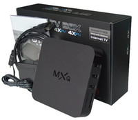 Wholesale Quad Core MXQ Smart TV Box Android Amlogic S805 Kodi Fully Loaded Media Player Update MX TV Box