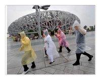 Wholesale DHL Disposable PE Raincoat Poncho Rainwear Travel Rain Coat Rain Wear gifts mixed colors B114