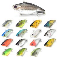 bass traps - Fishing Lures Lipless Trap Must Have Bass Walleye Crappie Freshwaer Hard Baits L568