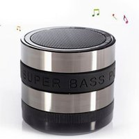 Wholesale 2015 Hot Sale Portable Mini Black Bluetooth Handsfree Speaker Support SD Card With Data Wire Suitable For Phone CEA