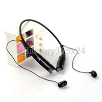 Wholesale HV HV Sport Neckband Headset In ear Wireless Headphones Bluetooth Stereo Earphones Earphone Headsets For iphone5 S S4 iphone