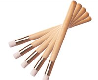 best brushes for foundation - Best Deal New Brush Single Makeup Wood Handle Black Head Nose Brush Cleansing Brush Comestic Tool for Women Beauty