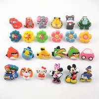 Wholesale kids favorite Cartoon Cabinet Knob Soft plastic Furniture Handle Knob Drawer Handle Children Room Cartoon Door Cupboard Handle