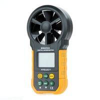 Wholesale PEAKMETER MS6252A Multifunction Digital Multimeter Practical Digital Anemometer Air Volume Meter Humidity Meter