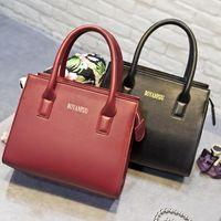 Wholesale new fashion luxury classic style tote bag women s handbag textured pu leather bag crossbody shoulder bag messenger bag bag hard case