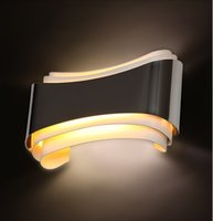 Wholesale Simple Modern LED Wall Lamps Wall Sconce LED Lights Fixtures for Home Indoor Bedroom Hallway Lighting Wandlamp Apliques Pared