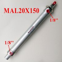 bending aluminum rod - Single Rod Cylinder MAL20X150 Bore mm Stroke mm Aluminum Alloy Air Cylinder