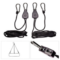 aquarium light kit - 2PC YOYO Heavy Duty Rope Ratchet Hanger Kit of LED Grow Aquarium Light